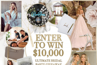 Esther & Co – Brides to be – Win The Ultimate Bridal Party Giveaway (prize valued at $10,000)