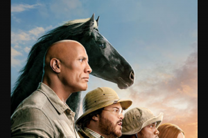 Female – Win One of 10 X In-Season Double Passes to Jumanji (prize valued at $1)
