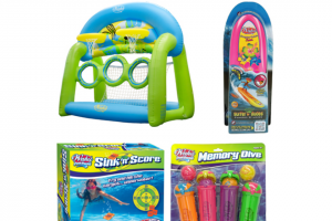 Female – Win One of 2 X Pool Toy Packs Including The New Wahu Range (prize valued at $175)