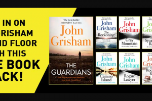 Hachette – Win a Huge Pack of John Grisham Books