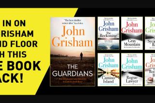 Hachette – Win a Huge Pack of John Grisham Books
