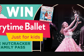 Hachette – Win a The Nutcracker Prize Pack Including