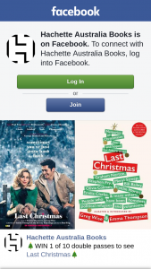 Hachette – Win 1 of 10 Double Passes to See Last Christmas