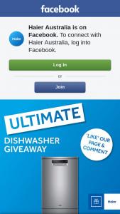 Haier – a Haier Dishwasher