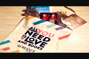 Harlequin – Win 1 of 4 Romance Swag Bags Worth $250. (prize valued at $1,000)