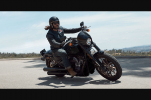 Harley Davidson – Win a Month of Pure Exhilaration (prize valued at $2,625)