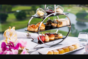 Haven Magazine – a Sparkling High Tea for Two (prize valued at $110)