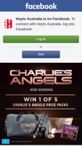 Hoyts Australia – 5 Charlie's Angels Prize Packs