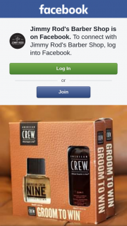 Jimmy Rod's Barber Shop – Win an American Crew Fragrance and 3 In 1 Hair Wash