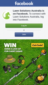 Lawn Solutions Australia – Win a Cub Cadet Prize Pack (prize valued at $1,879)