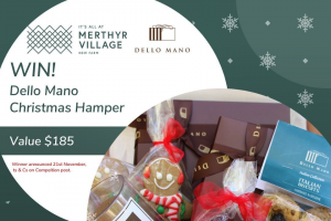 """Merthyr Village – Win a """"christmas Is Coming"""" Hamper Thanks to Dello Mano"""