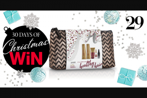 MindFood – Win 1 of 3 Joico Holiday 2019 Gift Bags (prize valued at $111)