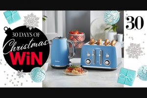 MindFood – Win The Toaster & Kettle Set In Ocean Mist (prize valued at $258)