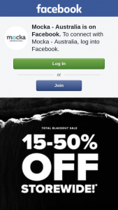 Mocka Australia – Any Mocka Product With Our 15%-50% Off Storewide Sale