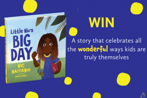 Mouths of Mums – Win 1 of 25 Copies of Little Nic's Big Day By Nic Naitanui