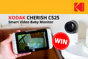 Mum Central KODAK CHERISH baby video monitor C525 – Win a Double Pass to The Hot Tomato Preview Screening (prize valued at $399)