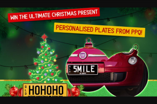 Nova 106.9FM – Win The Ultimate Christmas Present… Personalised Plates From Ppq (prize valued at $605)