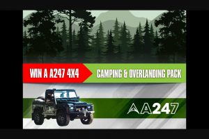 Nova 93.7 – Win an Epic A247 4×4 Camping and Overlanding Pack (prize valued at $1,480)