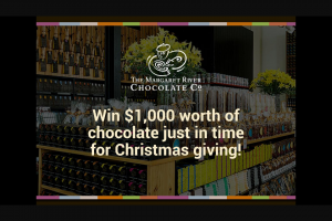 Nova 93.7 – Win $1000 Worth of Chocolate Just In Time for Christmas Giving (prize valued at $1,000)