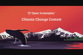 Open Screenplay – Win $2k and a Chance to Be Produced (prize valued at $2,750)