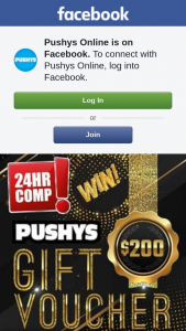 Pushys Online – Announced Tomorrow 15th November (prize valued at $200)