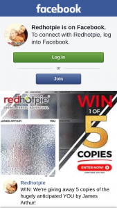 Red Hot Pie – Win 1/5 Copies of You By James Arthur