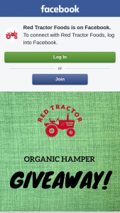 Red Tractor – Competition (prize valued at $200)