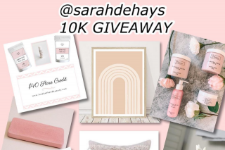 Sarah Dehays – a Chance to Receive These Amazing Prize Pack Which Includes