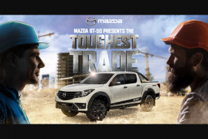SCA – Mazda BT50 – Win The Major Prize (prize valued at $5,000)