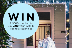 showandtellonline – Win a 500 Buck Voucher for You and Your Mate to Spend on Anything You Want at @bunnings (prize valued at $500)