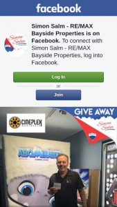 Simon Salm Re-Max Bayside Properties – Win a $60 Gift Voucher From Victoria Point Cineplex (prize valued at $60)