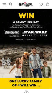 SMIGGLE spend $100 on STAR WARS prods – Win a Family Trip to Disneyland (prize valued at $300)