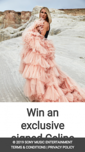 Sony – Win a Signed Celine Dion Poster