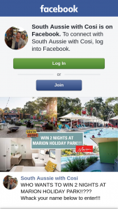 South Aussie With Cosi – Win 2 Nights at Marion Holiday Park??