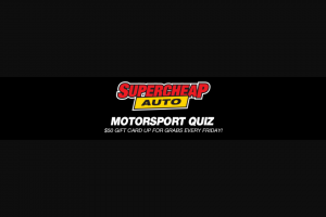 Speedcafecom – Selected From The List That Correctly Answered All 5 Quiz Questions (prize valued at $2,100)