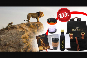 Stack magazine – Win One of Five The Lion King Prize-Packs