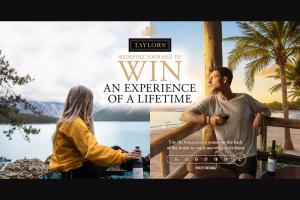 Taylor's Wines – Win a Gopro Hero7 Black 4k Hypersmooth Action Cam (sku917777) Valued at Au$529 (nz$569.99). (prize valued at $12,000)