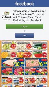 T-Bones Fresh Food Market – Win a $50 Or $100 T-Bones Voucher