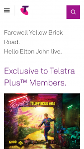 Telstra Plus Members – Competition (prize valued at $3,776.9)