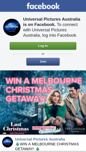 Universal Pictures Australia – Sugar Republic – Win a Melbourne Christmas Getaway