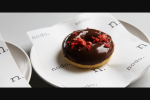Weekend Edition Brisbane – Win a $300 Voucher to Go (do)nuts With at Any Nodo Store