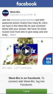 Weet-Bix – Awesome Prizes