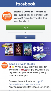 Yatala3 Drive-In theatre – Win a Free Family Car Pass for Tonight