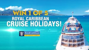9Now – Today – Win 1 of 5 Royal Caribbean Cruise holidays