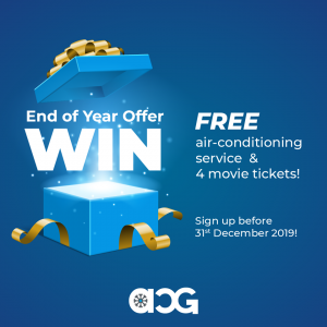 ACG Air Conditioning Guys – Win free air-conditioning service PLUS 4 movie tickets