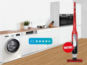 Bosch Home – Product Review – Win 1 of 12 Bosch Athlet Zoo'o Cordless Vacuum Cleaners
