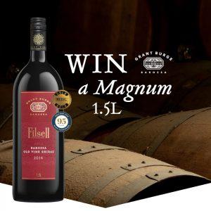 Bottlemart – Win a Grant Burge Filsell Shiraz 2014 Magnum 1.5L