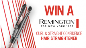 Channel 7 – Sunrise – Win 1 of 2 Remington Curl & Straight Confidence Straighteners