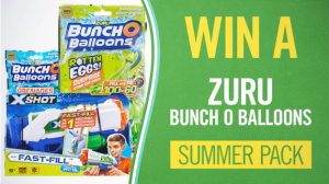 Channel 7 – Sunrise – Win 1 of 6 Zuru Bunch O Balloons Summer prize packs