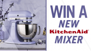 Channel 7 – Sunrise – Win a KitchenAid Artisan Two-Bowl Stand Mixer